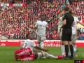 第28分钟拜仁慕尼黑球员博阿滕黄牌