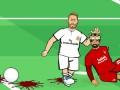 世界足球先生恶搞挑战三部曲 萨拉赫带球遭遇拉莫斯血腥防守