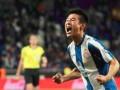 中国足球2019最高光时刻 1年前今日武磊斩获西甲首球