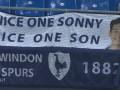 且看且珍惜!莱比锡主场不空场 英国远征球迷为孙兴慜打横幅