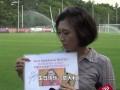 战国安前卡帅获特别礼物 日本女球迷追其20年