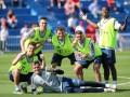拜仁队内速度挑战赛 穆勒阿拉巴小分队力压众队友夺冠