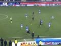 第74分钟AC米兰球员恰尔汗奥卢射门 - 被扑