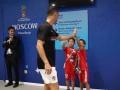 中国足球小将世界杯寻梦之旅:邝兆雷与C罗面基