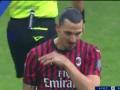 第15分钟AC米兰球员伊布拉希莫维奇射门 - 打偏