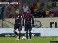 第88分钟RB莱比锡球员哈尔斯滕贝格射门 - 被扑