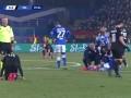 第36分钟AC米兰球员特奥·埃尔南德斯黄牌