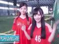 足球场上的一抹倩影 4000年美女鞠婧祎球场大秀颜值