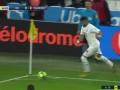 第43分钟马赛球员阿尔瓦罗·冈萨雷斯射门 - 打偏