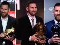 666!梅西2019五大荣誉:6夺金球+金靴+世界足球先生