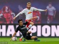 德甲-维尔纳失良机铁卫门线救险 莱比锡主场0-0憾平法兰克福