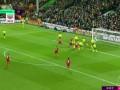 上半场补时第1分钟利物浦球员范戴克射门 - 打偏