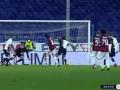 第47分钟AC米兰球员托纳利射门 - 击中门框