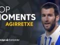 西甲记忆:阿吉雷切的皇社生涯 退役时梅西曾为他颁发奖牌