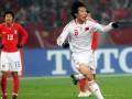 邓卓翔曾一扣一拨碾压韩国 中国足球大赛上难得的硬气