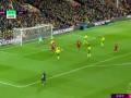 第65分钟利物浦球员萨拉赫射门 - 打偏