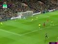 第65分钟利物浦球员萨拉赫射门 - 被扑