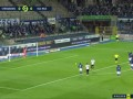 2020/2021法甲联赛第2轮全场集锦:斯特拉斯堡0-2尼