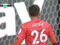 第11分钟曼城球员罗德里射门 - 被扑