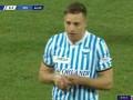 第69分钟斯帕尔球员佩塔尼亚点球进球 斯帕尔1-2尤文图斯