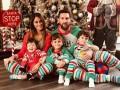 球星们都咋过圣诞节:梅西C罗晒全家福 瓦尔加抢镜