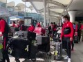 恒大抵达白云机场结束海外拉练 李学鹏留在广州过年
