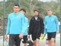 PP体育在现场:申花试训外援帕帕多普洛斯首次与球队合练