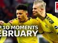 德甲2月十大事件:哈兰德&桑乔狂刷纪录 拜仁18岁新星闪耀