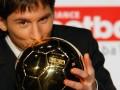 10年前的今天:梅西首次荣膺金球奖 青涩小子征服世界