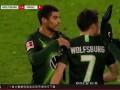 2019/2020德甲联赛第23轮全场集锦:沃尔夫斯堡4-0美因茨