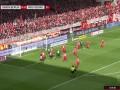 第22分钟沃尔夫斯堡球员韦格霍斯特射门 - 被扑