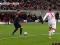 第41分钟RB莱比锡球员哈尔斯滕贝格射门 - 被扑