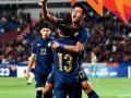 U23亚洲杯-门神补时献神扑 泰国1-1伊拉克晋级八强