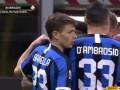 第31分钟卢多戈雷茨球员特尔济耶夫乌龙球 国际米兰1-1卢多戈雷茨