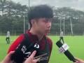 蒿俊闵:球队注重传控和前场逼抢 暂时没有与教练单独沟通