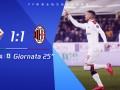 2019/2020意甲联赛第25轮全场集锦:佛罗伦萨1-1AC米兰