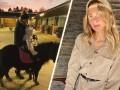 罗伊斯家的女人太强了!小火箭女友带娃学骑马:女儿还不到一岁