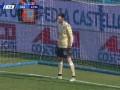 第65分钟萨索洛球员卡普托点球进球 斯帕尔1-1萨索洛