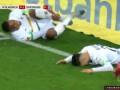 第22分钟门兴格拉德巴赫球员本塞拜尼射门 - 打偏