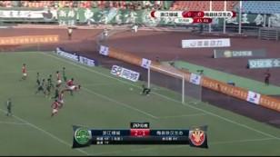 岳鑫造乌龙迪诺建功 绿城2-1梅县