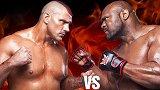 重量级MMA:野兽鲍勃萨普来势汹汹,结果连站起来的机会都没有