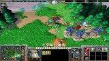 【大帝解说】魔兽争霸3 大帝HUM vs 521wy TR与闪电的消耗战