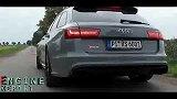 2013奥迪Audi RS6 Avant C7 0-100km_h加速实录(560ps,700nm)