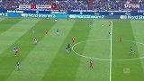 第57分钟法兰克福球员帕西恩西亚射门