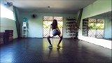 巴西长腿美女自编超帅舞蹈《Na Na》,节奏感超强!