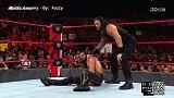 WWE-18年-SD第985期:全美冠军赛 杰夫哈迪VS米兹-单场