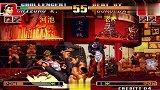 拳皇97:神乐千鹤的这记精彩布阵真的是要了KY门的命啊