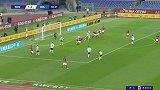 第39分钟罗马球员克里斯坦特射门 - 被扑