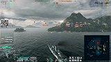 【战舰世界A君解说】第37期:五杀海妖拯救世界,二战后生不逢时的最强巡洋,美系10级CA德梅因巡洋舰
