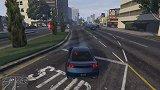 GTA5线上载具-免费神车-挽歌RH8,经典跑车测评!
